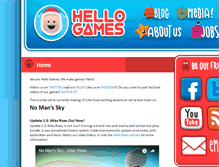Tablet Preview of hellogames.org